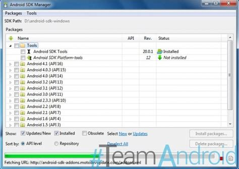 android tools and drivers how to set up adb fastboot with android sdk for any