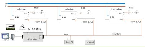 1500ma dimming led driver with dali 32 54v dc