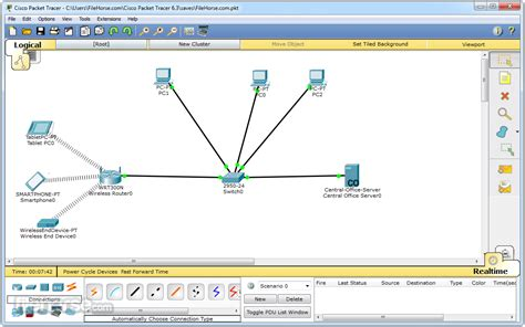 Cisco Packet Tracer 7.0 (64-bit) Download For Windows