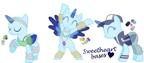 Two Or More Pony Bases On Mlp-bases-rock