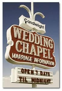 Retro neon wedding chapel sign in las vegas nevada neon for Las vegas sign wedding