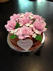 Cake Decorating Ideas For A Mom U0026 39 S Day Cake