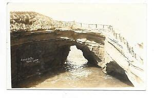 Vintage Rppc Real Photo View Postcard Sunset Cliffs Point