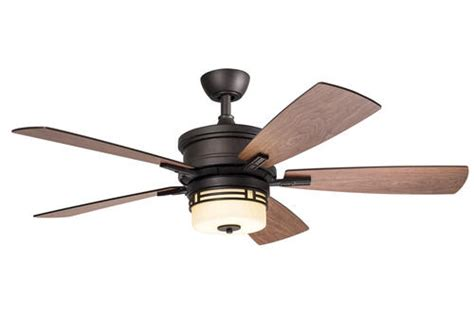 Menards Outdoor Ceiling Fans by Turn Of The Century 174 Mission 52 Quot Bronze Patina Ceiling Fan