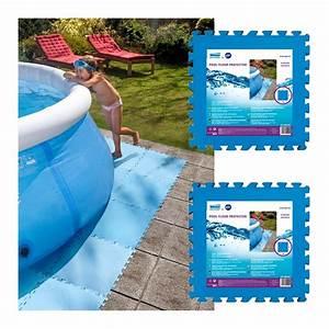 Tapis Sous Piscine : dalle de protection de sol piscine ~ Melissatoandfro.com Idées de Décoration