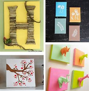 Diy Canvas Wall Art Ideas: 30+ Canvas Tutorials in Diy ...