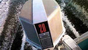 1973 Chrysler 20hp Classic Outboard