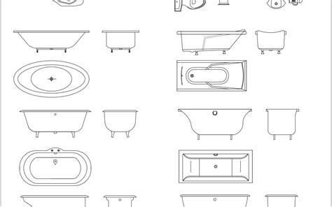 Bathroom Fixtures Cad Blocks by Cad Blocks Bathroom Archives In Architecture