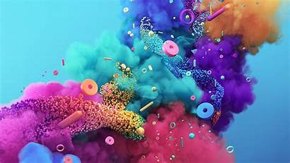 Pattern Background Rainbow Digital Desktop Macbook Papers