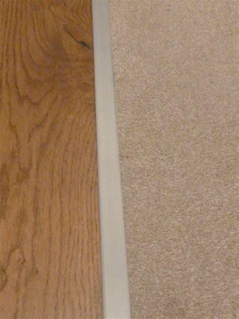 Satin Effect Carpet Z Plate Door Threshold 13mm