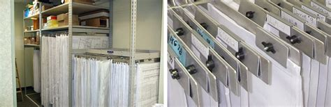 big blueprint hanger   space saving storage ideas