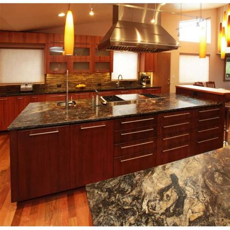 cherry wood cabinets with granite countertop choosing granite countertop colors for cherry wood