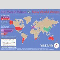 Explaining Old World Wines Versus New World Wines [map]