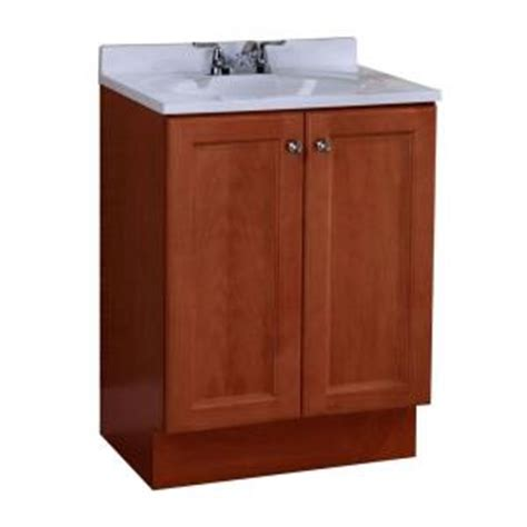 home depot vanity combo glacier bay all in one 24 in w vanity combo in with