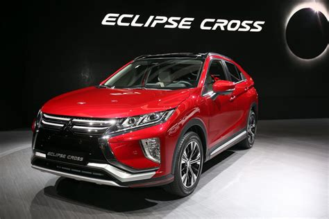 eclipse mitsubishi 2018 mitsubishi eclipse cross brings evo tech to geneva