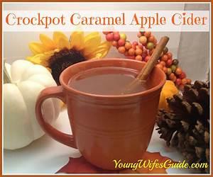 Crockpot Caramel Apple Cider Recipe