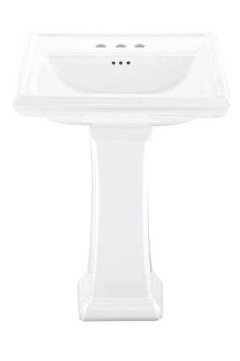 Gerber Logan Pedestal Sink by Logan Square 4 Quot Centers Standard Pedestal Bathroom Sink