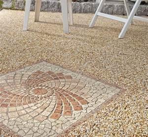 Bodenbelag Terrasse Kunstharz : steinteppich farben muster und vaianten ~ Orissabook.com Haus und Dekorationen