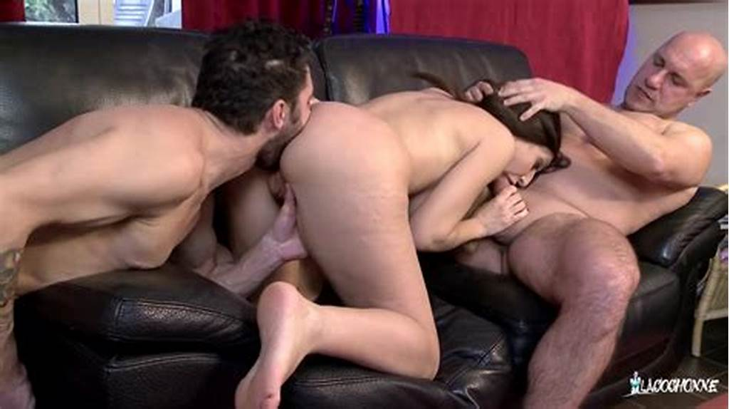 #Busty #French #Eloa #Lombard #Gets #A #Taste #Of #Two #Cocks #In #Steamy #Mmf #Threesome