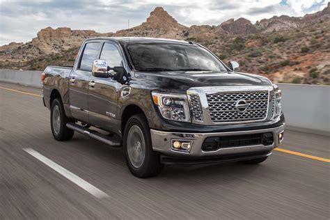 truck nissan titan nissan titan 2017 truck of the year contender motor trend