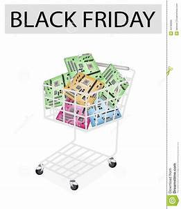 Computer Motherboard In Black Friday Shopping Cart Stock ...