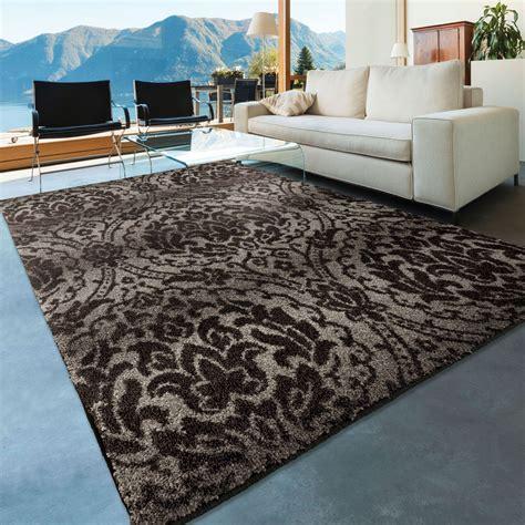 large grey rug orian rugs plush pile damask norfolk gray area large rug