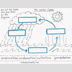 The Water Cycle Lesson Plan With Handdrawn Printables! By Rockabye Butterfly
