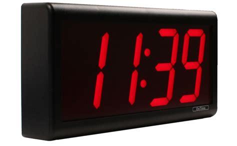 service bureau a distance horloge numérique