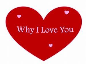 Why I Love You: Why I Love You Any Reasons