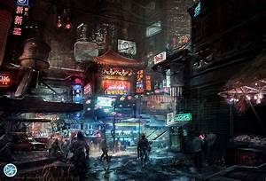 Cyberpunk | Hot Space Station Justice