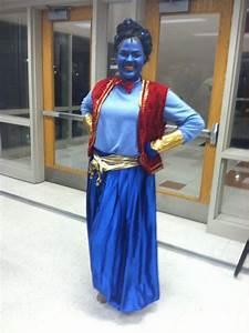Aladdin Genie costume. Elizabeth Mitchell as Genie | Aladdin | Pinterest | Genie costume ...
