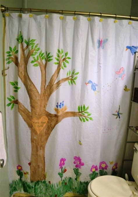 wonderful themed shower curtains  kids bathroom