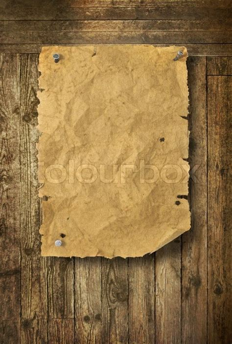 empty wild west wanted poster   wooden wall stock
