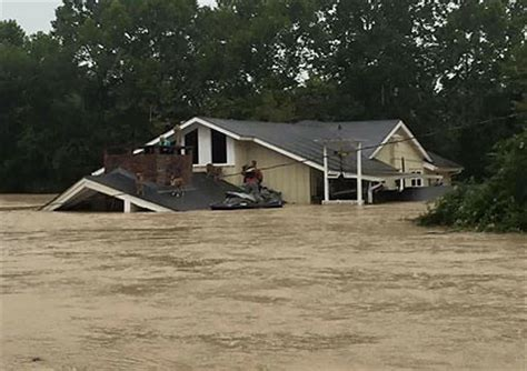 Donnie Swaggart House - flood relief jimmy swaggart ministries