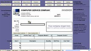 Download computer repair invoice template rabitahnet for Computer repair invoice software