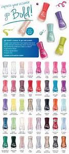 Sally Hansen Miracle Gel Shade Chart Nails Pinterest