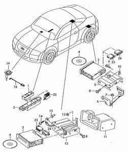 2001 Audi Tt Roadster Bracket  Tion  Naviga