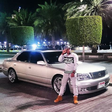 bagged ls400 straight flexin on 39 em bagged dropped inabudhabi