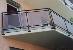 Balkongeländer Glas Anthrazit : gel nder balkongel nder feuerverzinkt mit stahlhandlauf ober und untergurt feuerverzinkt und ~ Michelbontemps.com Haus und Dekorationen
