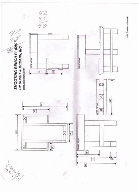 shooting bench plans nra mikeleg