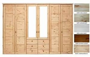 Massivholz Kleiderschrank Weiß : massivholz schlafzimmerschrank 6t rig kleiderschrank ~ Lateststills.com Haus und Dekorationen