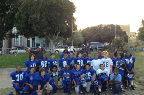 fundraiser  tracy green sf seahawks youth football fund