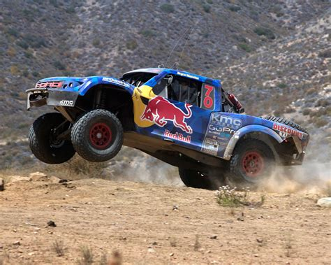 baja trophy truck menzies motosports conquer baja 500 in the red bull trophy