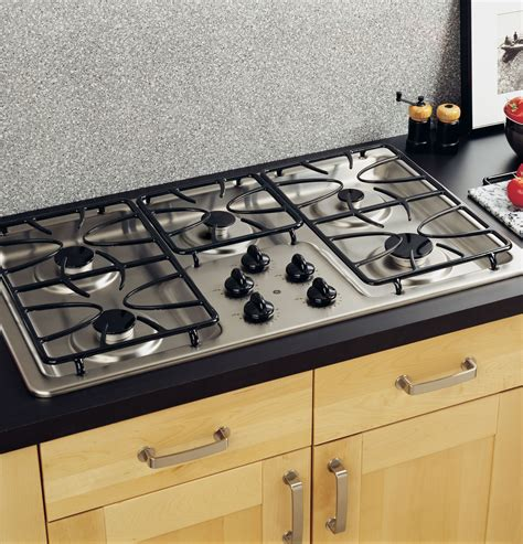 ge  built  gas cooktop jgpsekss ge appliances