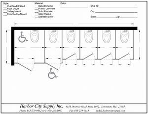 restroom partitions harborcitysupply With how big is a bathroom stall