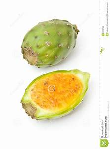 Whole And Half Prickly Pears Royalty Free Stock Image ...