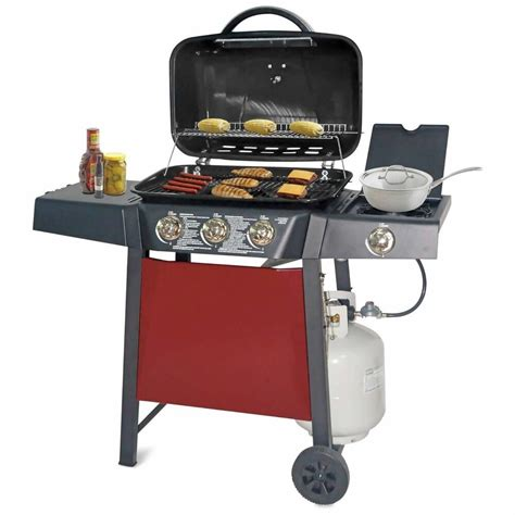 Backyard Grill Bbq by Gas Grill Backyard 3 Burner Stainless Steel Propane Bbq
