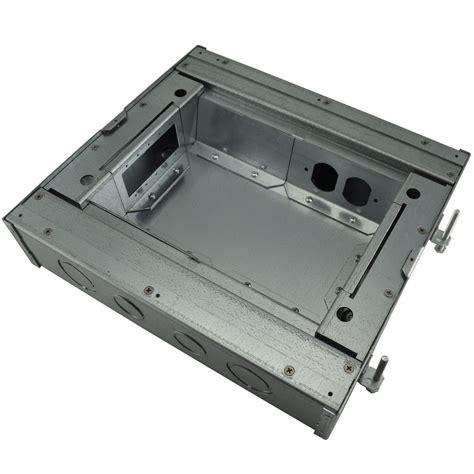 Fsr Floor Boxes Fl 600p by Fsr Fl 600p 3 B Ul Cul Concrete Floor Box 3 Quot 6x1