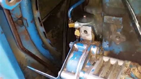 ford fuel pump leak youtube