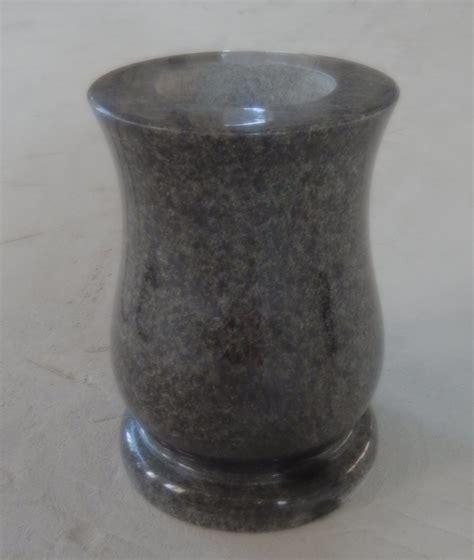 gmv 009 black granite vases for gravestones buy vases